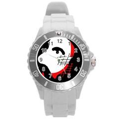 Revolution Round Plastic Sport Watch (L)