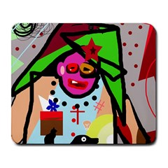 Quarreling Large Mousepads