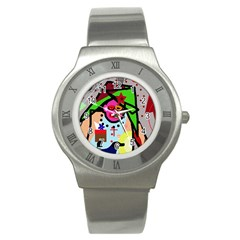 Quarreling Stainless Steel Watch