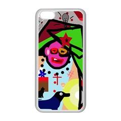 Quarreling Apple iPhone 5C Seamless Case (White)