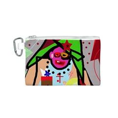 Quarreling Canvas Cosmetic Bag (S)