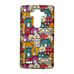 City Pattern  The Structural Pattern Of The Urban Subject Of Repeated Homes Lg G4 Hardshell Case