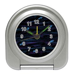 Blue moonlight Travel Alarm Clocks