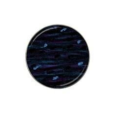 Blue moonlight Hat Clip Ball Marker
