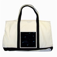 Blue moonlight Two Tone Tote Bag
