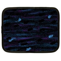 Blue moonlight Netbook Case (XXL)