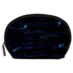 Blue moonlight Accessory Pouches (Large)