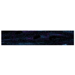 Blue moonlight Flano Scarf (Small)
