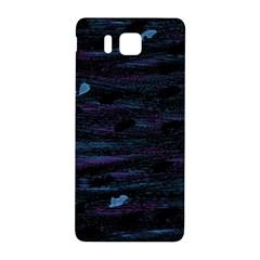 Blue moonlight Samsung Galaxy Alpha Hardshell Back Case
