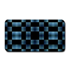 Checkboard Pattern Print Medium Bar Mats