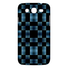 Checkboard Pattern Print Samsung Galaxy Mega 5.8 I9152 Hardshell Case