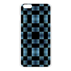 Checkboard Pattern Print Apple Seamless iPhone 6 Plus/6S Plus Case (Transparent)