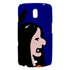 Girl and bird Samsung Galaxy Nexus i9250 Hardshell Case