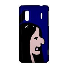 Girl and bird HTC Evo Design 4G/ Hero S Hardshell Case