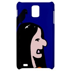 Girl and bird Samsung Infuse 4G Hardshell Case