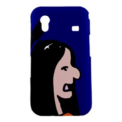 Girl and bird Samsung Galaxy Ace S5830 Hardshell Case