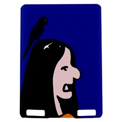 Girl and bird Kindle Touch 3G