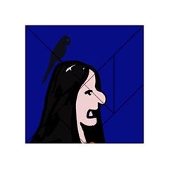 Girl and bird Acrylic Tangram Puzzle (4  x 4 )