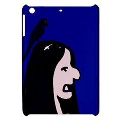 Girl and bird Apple iPad Mini Hardshell Case