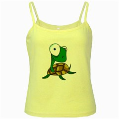 Turtle Yellow Spaghetti Tank