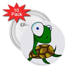 Turtle 2.25  Buttons (10 pack)