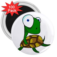 Turtle 3  Magnets (100 pack)