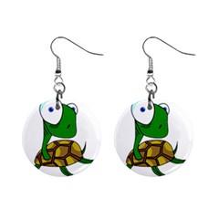 Turtle Mini Button Earrings