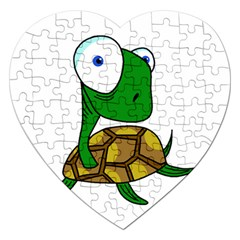 Turtle Jigsaw Puzzle (Heart)