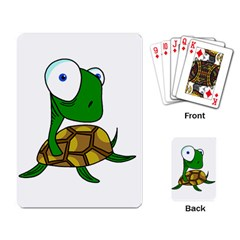 Turtle Playing Card