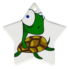 Turtle Star Ornament (Two Sides)