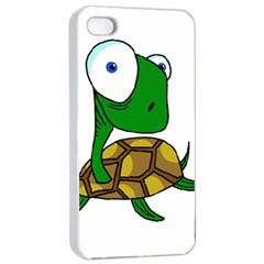 Turtle Apple iPhone 4/4s Seamless Case (White)