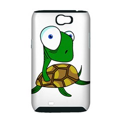 Turtle Samsung Galaxy Note 2 Hardshell Case (PC+Silicone)