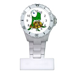 Turtle Plastic Nurses Watch