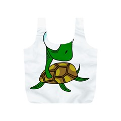Turtle Full Print Recycle Bags (S)