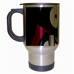Monster Travel Mug (Silver Gray)