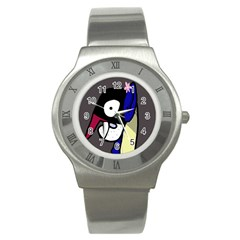 Monster Stainless Steel Watch