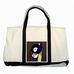 Monster Two Tone Tote Bag