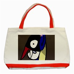 Monster Classic Tote Bag (Red)