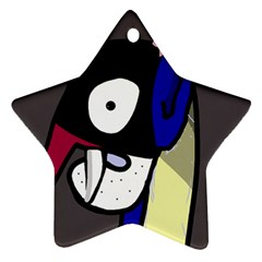 Monster Star Ornament (Two Sides)