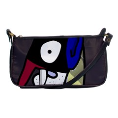 Monster Shoulder Clutch Bags