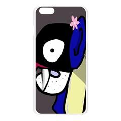 Monster Apple Seamless iPhone 6 Plus/6S Plus Case (Transparent)