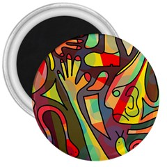 Colorful dream 3  Magnets
