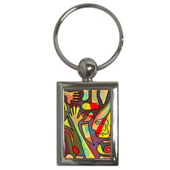 Colorful dream Key Chains (Rectangle)
