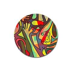 Colorful dream Magnet 3  (Round)