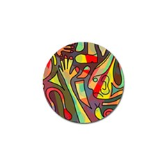 Colorful dream Golf Ball Marker (10 pack)