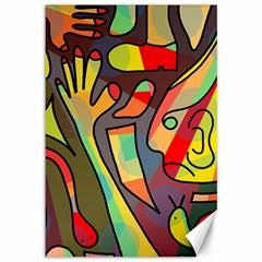 Colorful dream Canvas 12  x 18