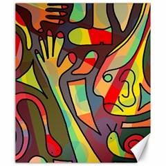 Colorful dream Canvas 20  x 24
