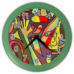 Colorful dream Color Wall Clocks
