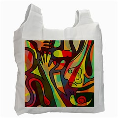 Colorful dream Recycle Bag (One Side)