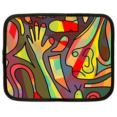 Colorful dream Netbook Case (XL)
